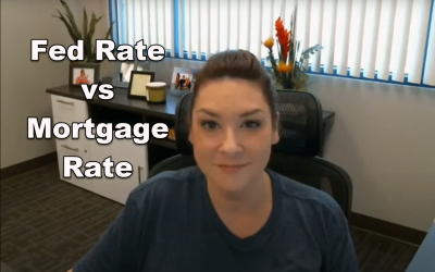 Fed Rate vs Mortgage Rate
