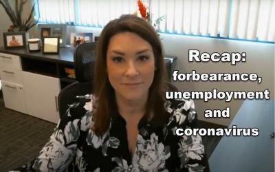 Forbearance, Unemployment and Coronavirus