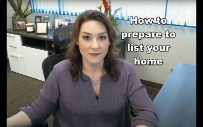 How to prepare to list your home
