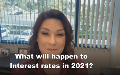 What will happen to interest rates as we head into 2021?